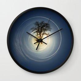 Tiny Planet 5 - The Last Lampost Wall Clock