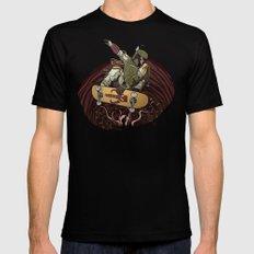 Boba Fett Shreds X-LARGE Black Mens Fitted Tee