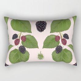 Black Mulberry Rectangular Pillow