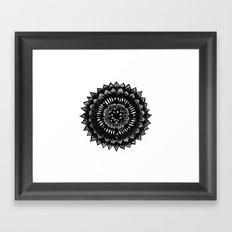 mandala Framed Art Print