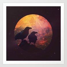 Corvus Art Print