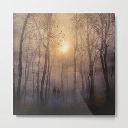 Eternal walk by Viviana Gonzalez Metal Print