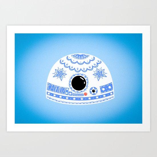 R2-DEAD2 Art Print