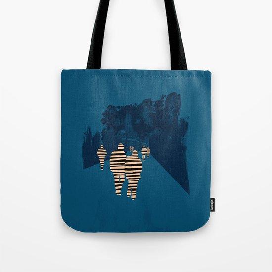 walking for oblivion Tote Bag