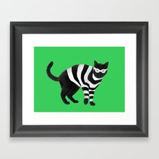 Cat Burglar, Master of Thieves Framed Art Print