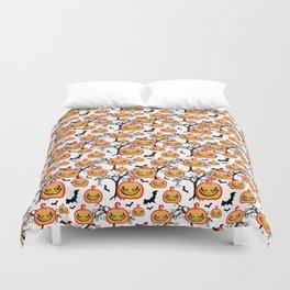 Pumpkinhead Pattern Duvet Cover