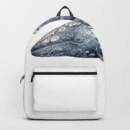 Grey whale Backpack