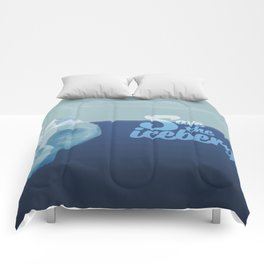 Save the icebergs, stop climate change ! Comforters