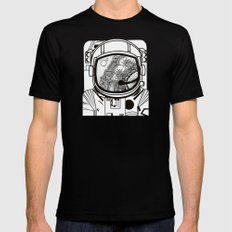 Searching for human empathy 1 MEDIUM Mens Fitted Tee Black