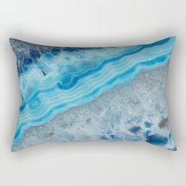 Blue Gem Rectangular Pillow