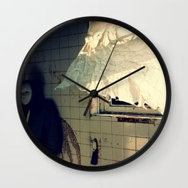 Shower time at Boys Village Wall Clock