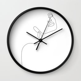 Dreamy Girl Wall Clock