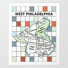 West Philadelphia Version 1 Art Print