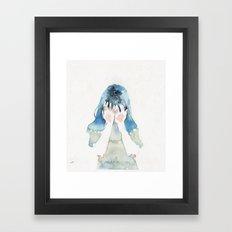 small piece 07 Framed Art Print