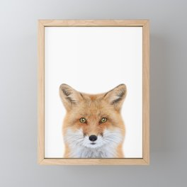 Fox Art Framed Mini Art Print