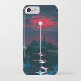 Lunar Dripping iPhone Case