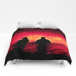 Sunset Walk Comforters