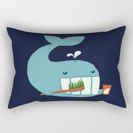 Brush Your Teeth Rectangular Pillow