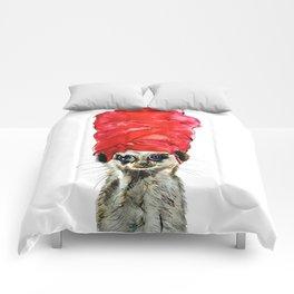 Red Turban Comforters