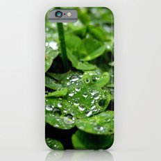 Bedazzled clovers Slim Case iPhone 6s