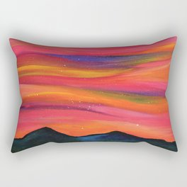 TWILIGHT SKY OVER MOURNE MOUNTAINS Rectangular Pillow
