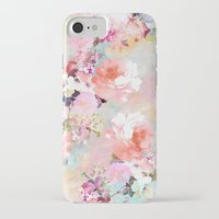 light iPhone & iPod Cases featuring Love of a Flower by Girly Trend