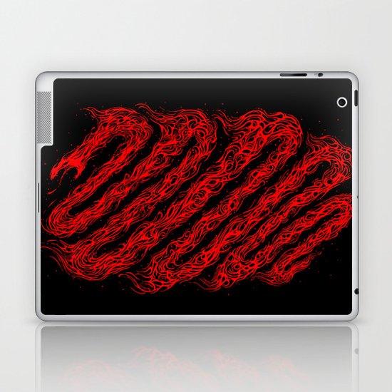 The fire snake Laptop & iPad Skin