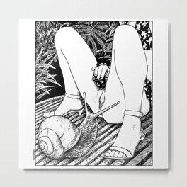 asc 476 - Le regard de l'escargot (The fertility) Metal Print