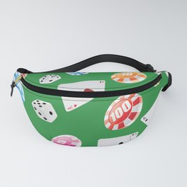 #casino #games #accessories #pattern 4 Fanny Pack
