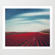 10000001 Tulips Art Print