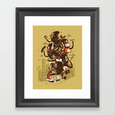 The big trip  Framed Art Print