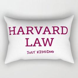 Harvard Law Rectangular Pillow