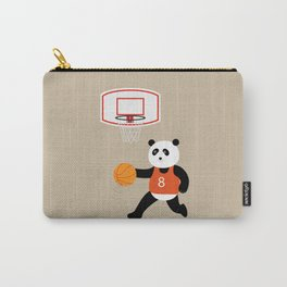 Play basketball with a panda Carry-All Pouch