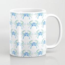 Ocean Blue Crab Coffee Mug