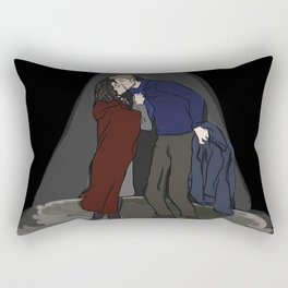 Alternate Ending to Once Upon A Time Series Finale - Outlaw Queen Rectangular Pillow