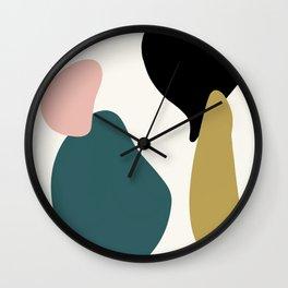 gemstones 3 Wall Clock
