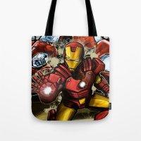 Man of Iron Tote Bag