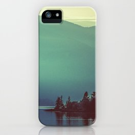 Summer at the Lake Turquoise iPhone Case