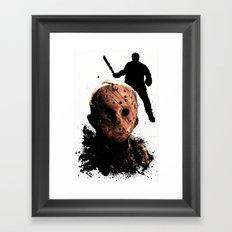 Jason Voorhees: Monster Madness Series Framed Art Print