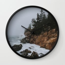Bass Harbor, Maine Wall Clock