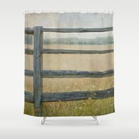 country Shower Curtains featuring Country by Pure Nature Photos