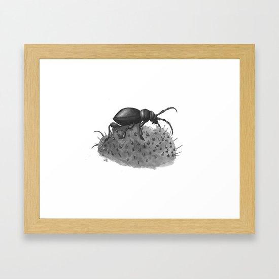 Inktobober 2016: Cactus Longhorn Beetle by arielw