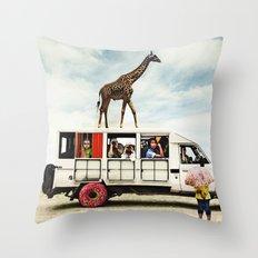 I Dreamed a Safari  Throw Pillow