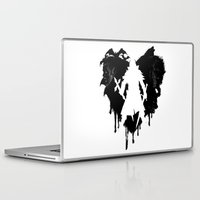 castlevania Laptop & iPad Skins featuring I LOVE Castlevania by Marcos Raya Delgado