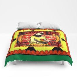 beardedladycarnivalposter Comforters