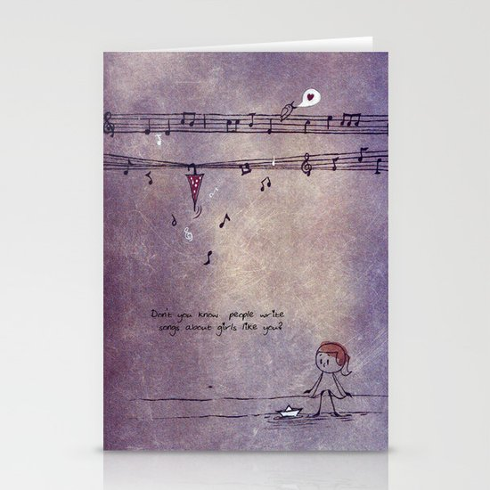 Unposted Letter -2 Stationery Cards