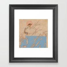 Myshkin Sparrow Framed Art Print