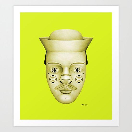Hank Art Print