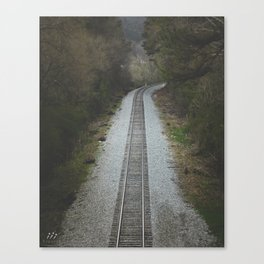 Track to Nowhere Canvas Print