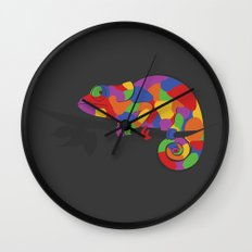 World's Worst Chameleon Wall Clock